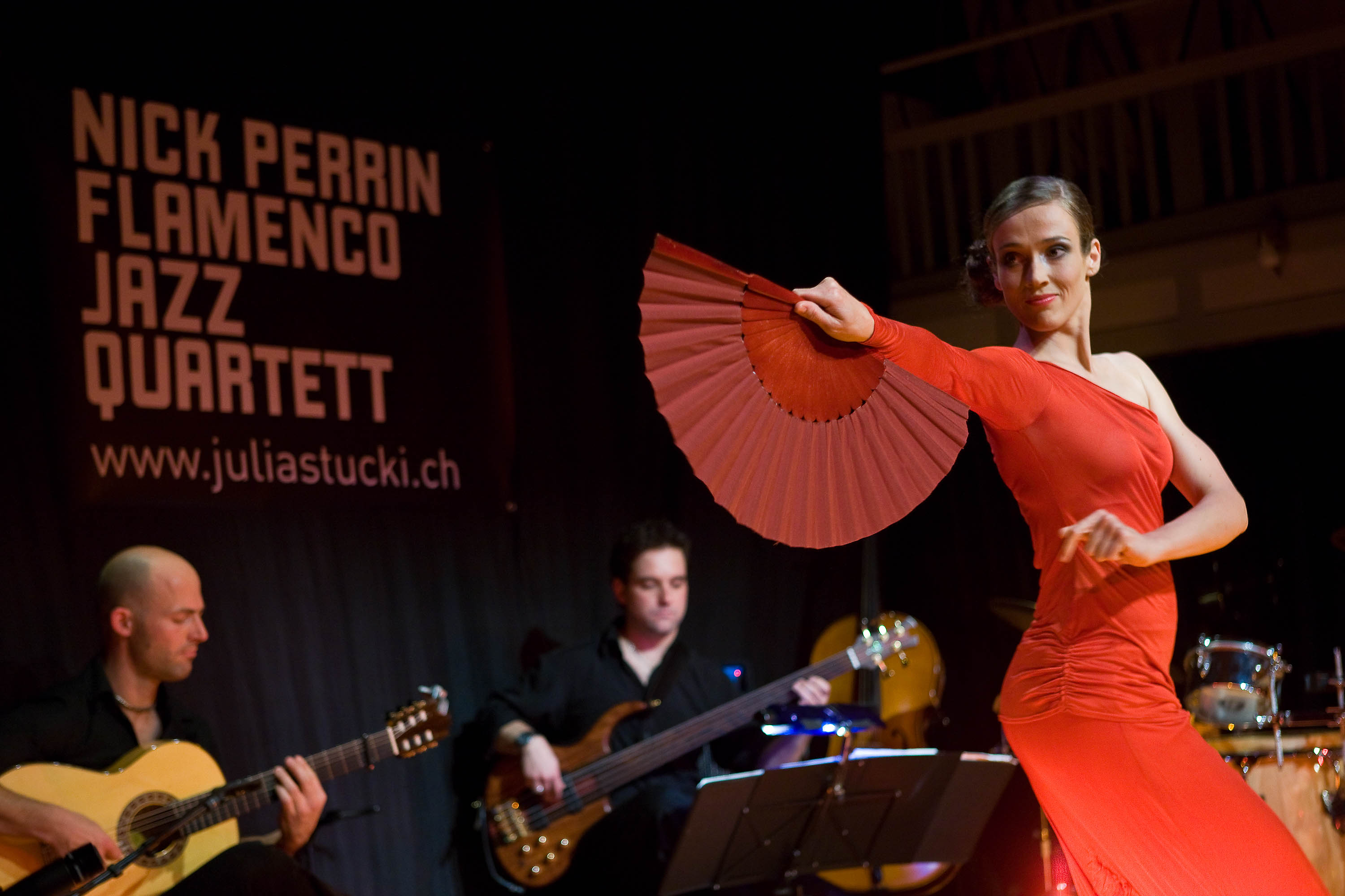 nick perrin flamenco jazz quartett